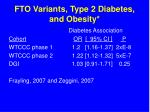 fto variants type 2 diabetes and obesity