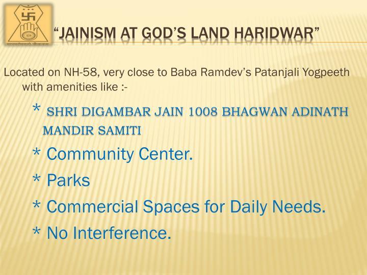 Jainism at god s land haridwar