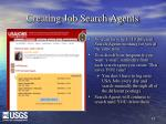 creating job search agents