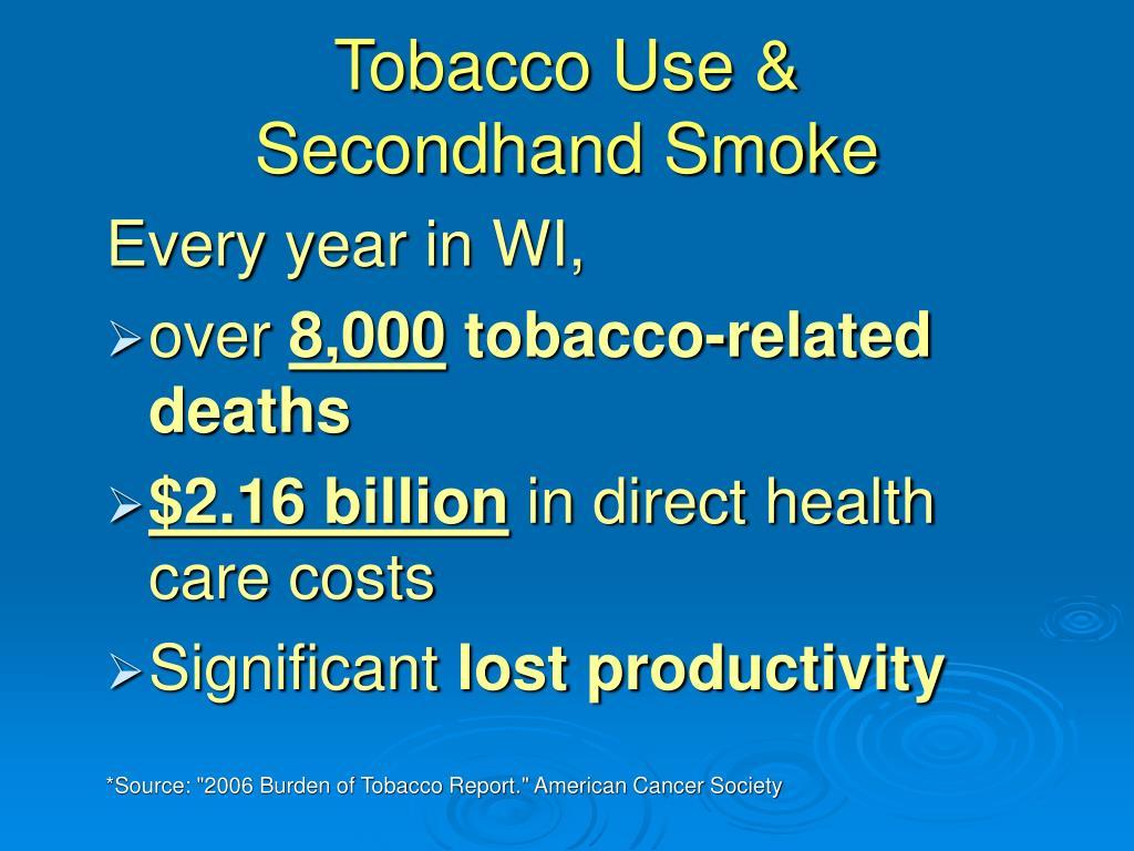Tobacco Use &