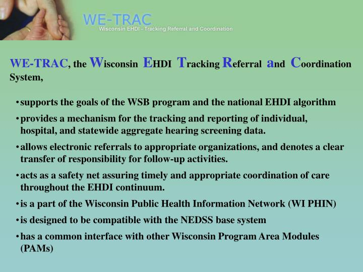 WE-TRAC