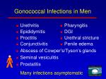 gonococcal infections in men