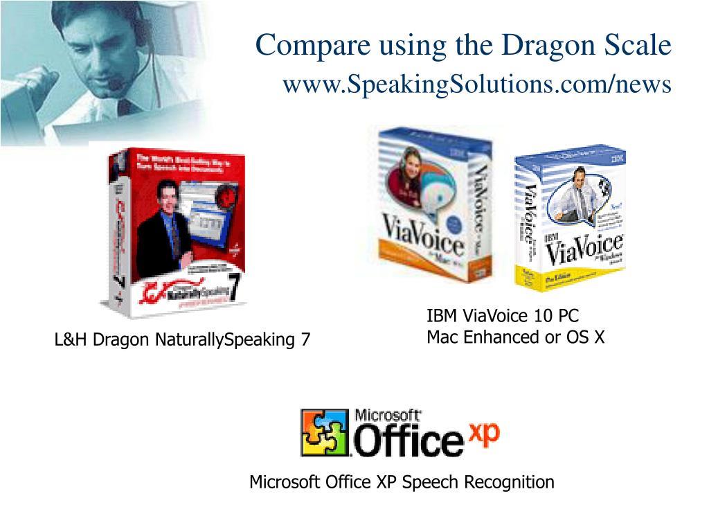 Compare using the Dragon Scale