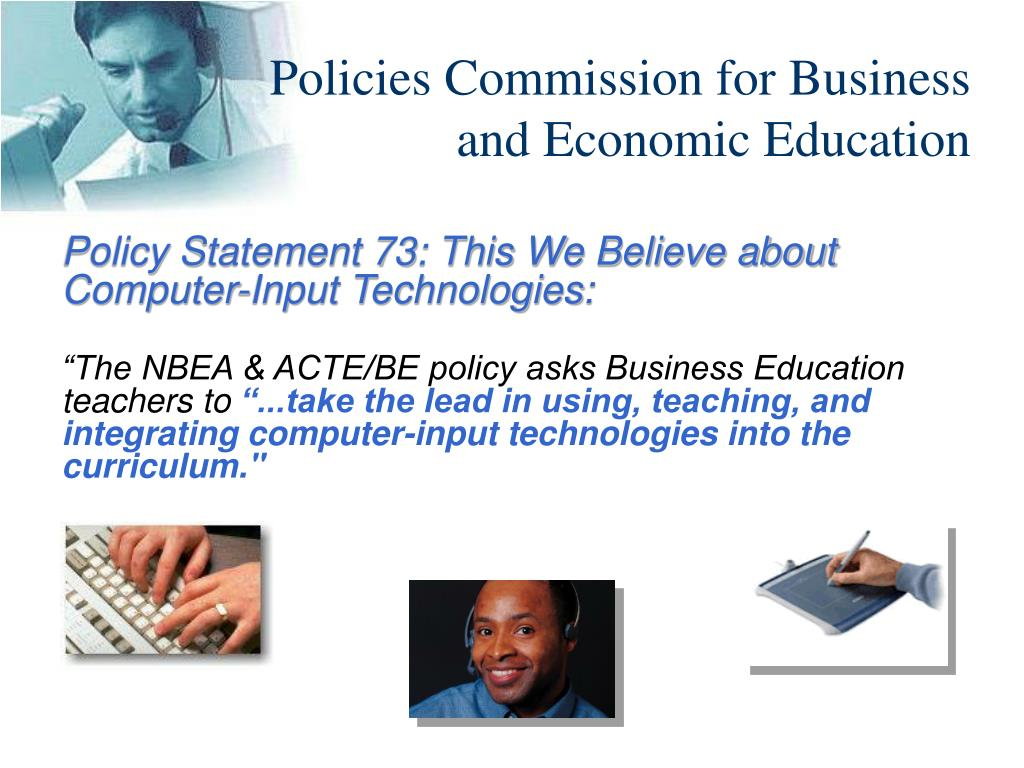 Policies Commission for Business and Economic Education