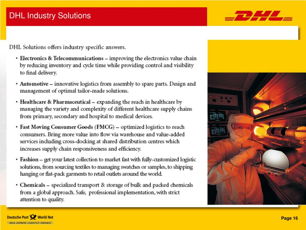 DHL Industry Solutions