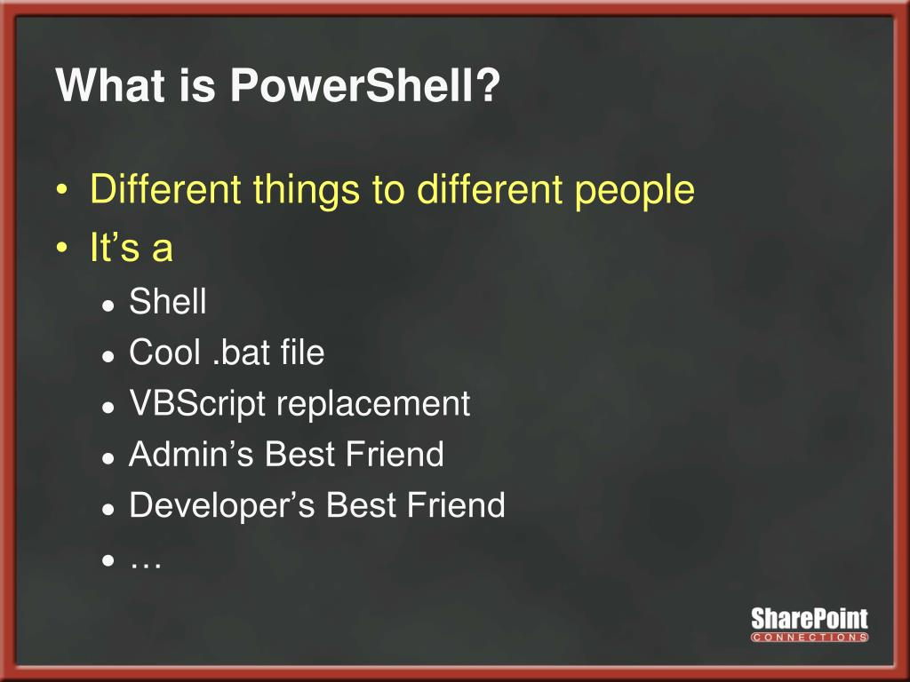 What is PowerShell?