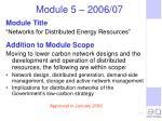 module 5 2006 07