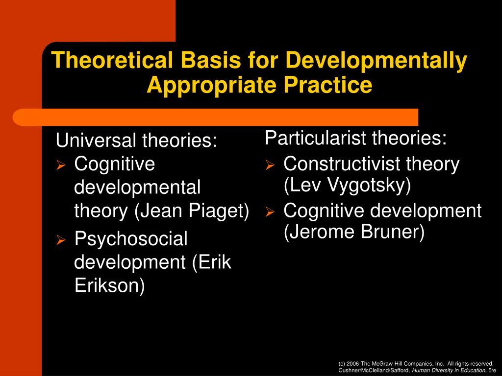 Universal theories: