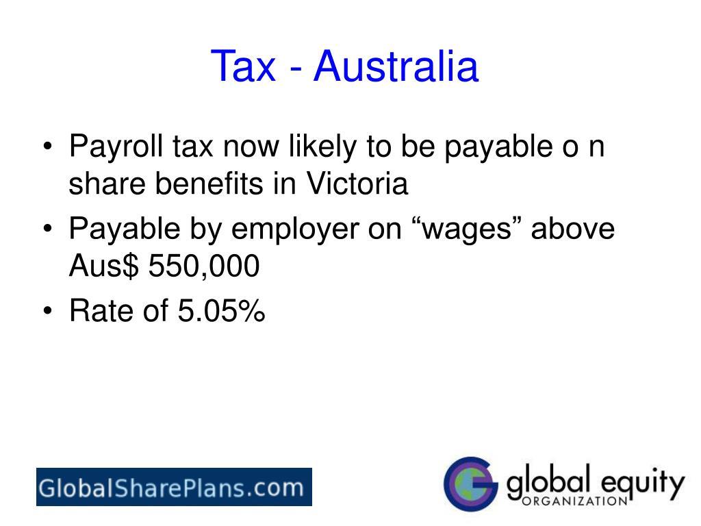 Tax - Australia