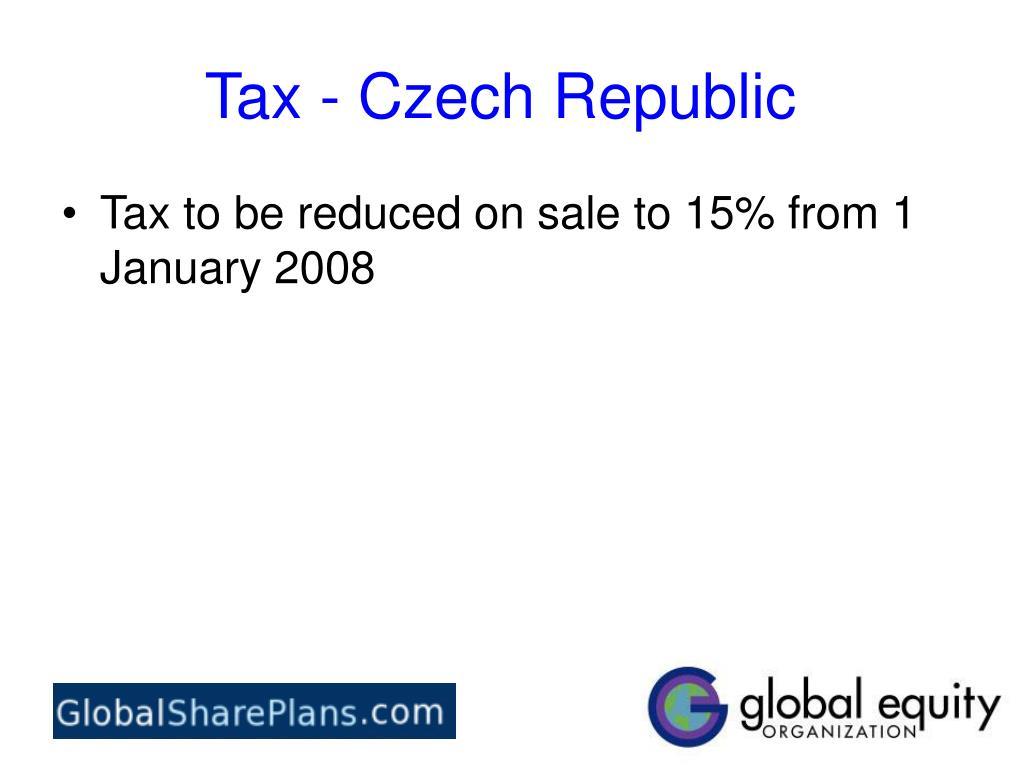 Tax - Czech Republic