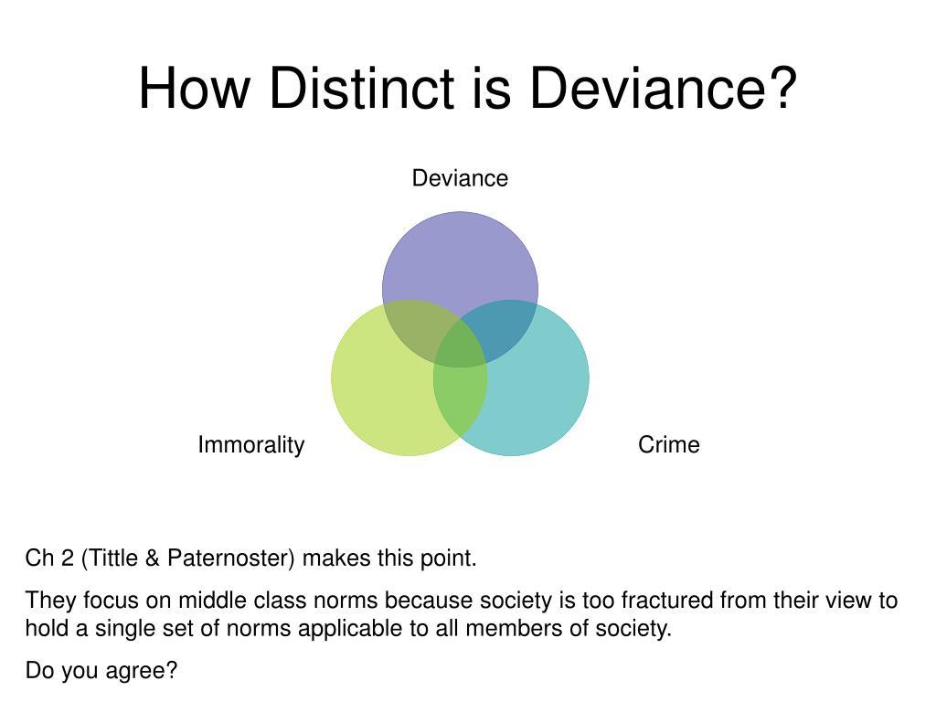 How Distinct is Deviance?