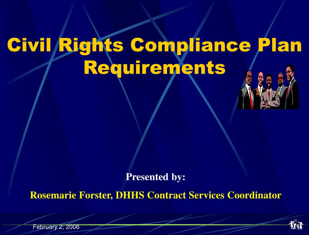 Civil Rights Compliance Plan