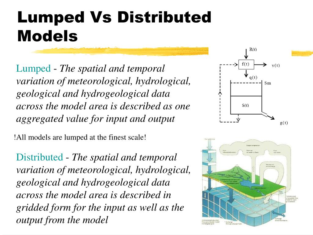 Lumped Vs Distributed Models