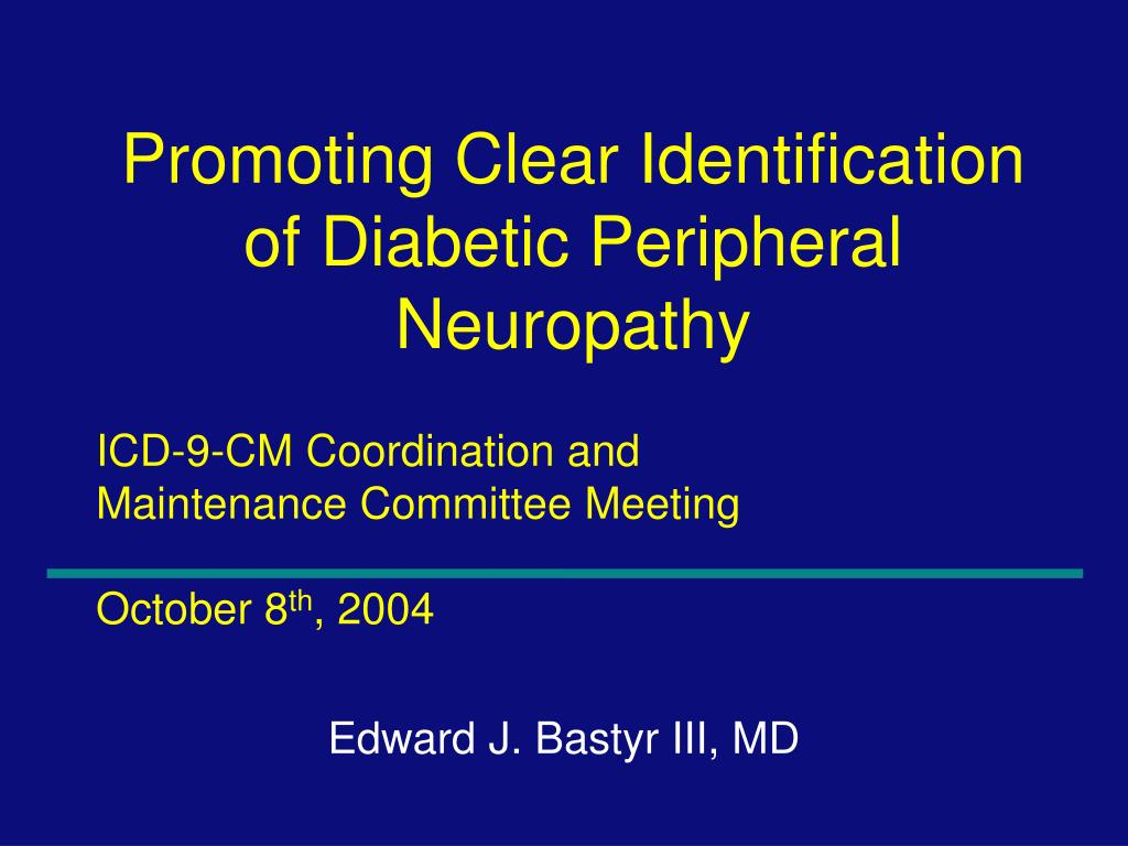 Promoting Clear Identification of Diabetic Peripheral Neuropathy