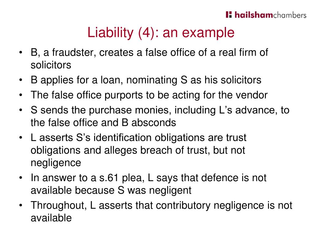 B, a fraudster, creates a false office of a real firm of solicitors