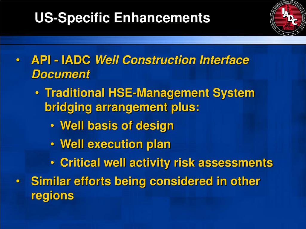 US-Specific Enhancements