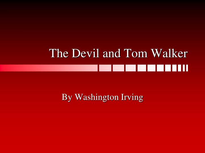 the devil and tom walker n.