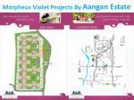 morpheus violet projects by aangan estate
