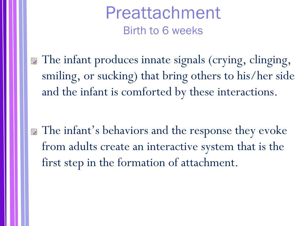 Preattachment