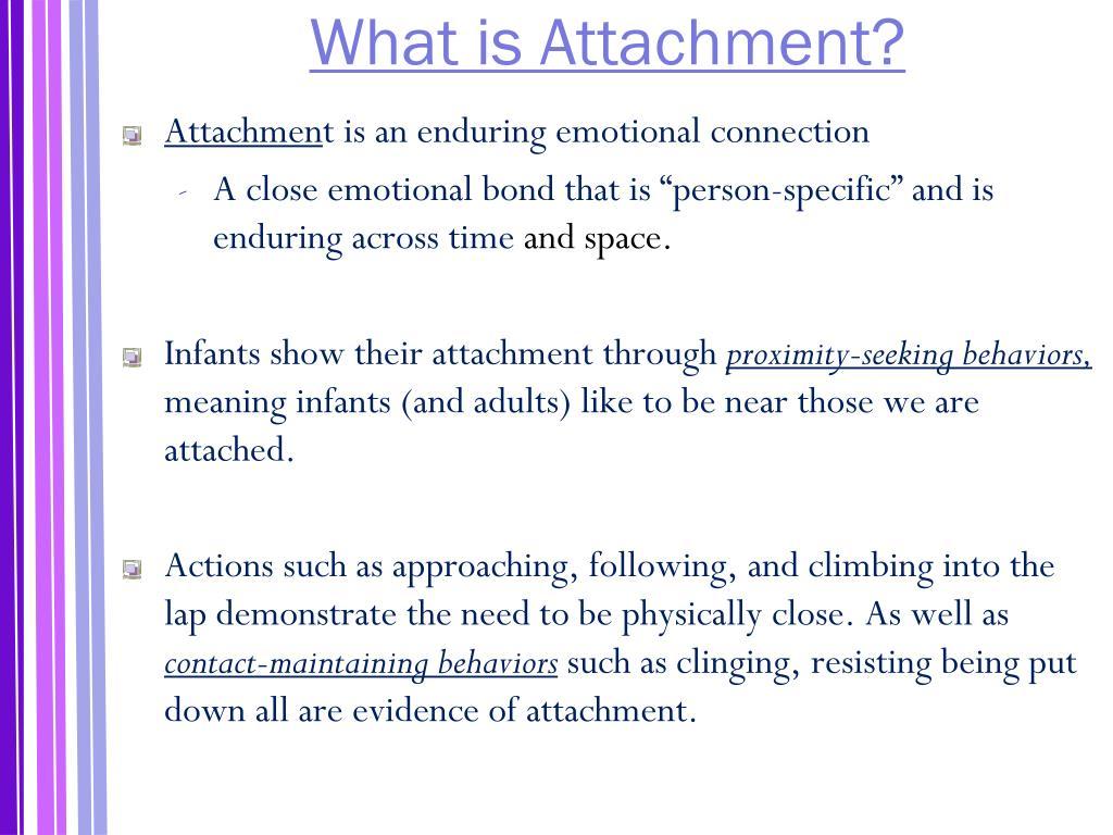 Attachmen