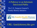 a pathway to an informed interested public