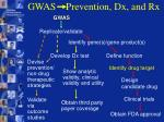 gwas prevention dx and rx19