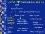 gwas prevention dx and rx25