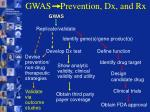 gwas prevention dx and rx27