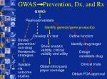 gwas prevention dx and rx9