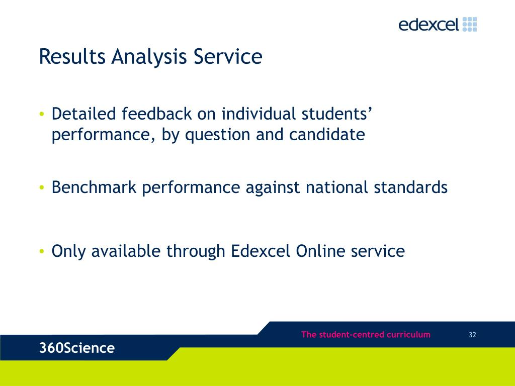 Results Analysis Service