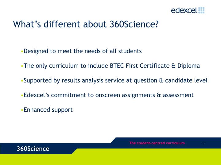 What s different about 360science