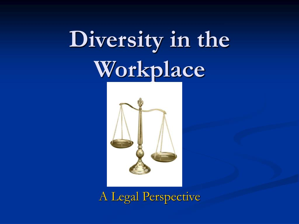 diversity in the workplace l.