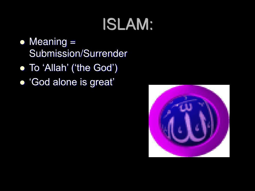 ISLAM: