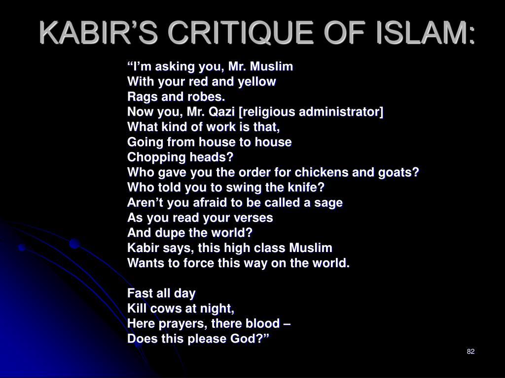 KABIR'S CRITIQUE OF ISLAM:
