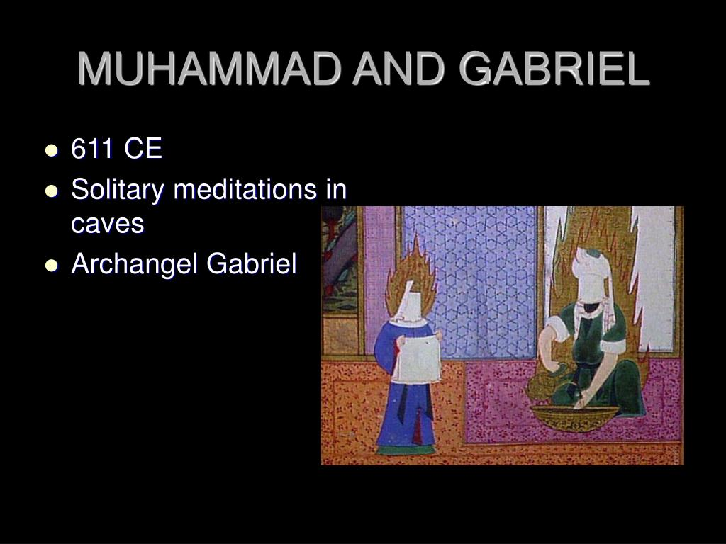 MUHAMMAD AND GABRIEL