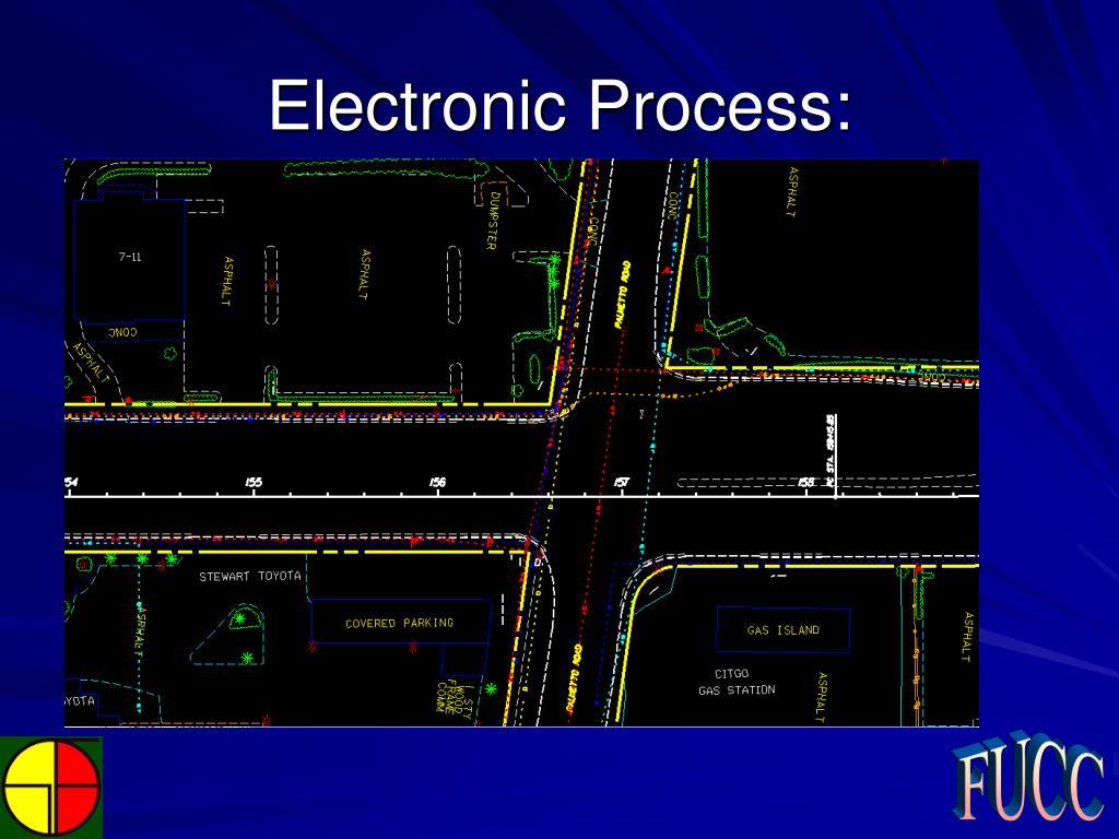 Electronic Process: