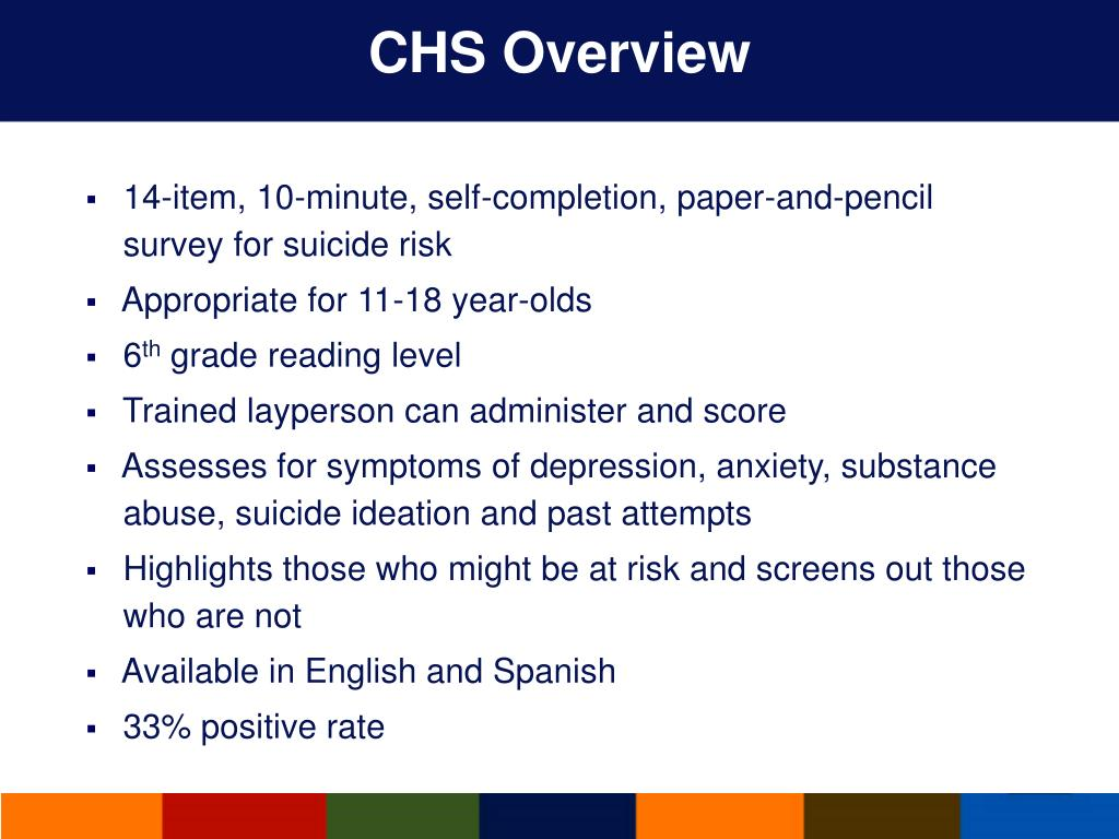 CHS Overview