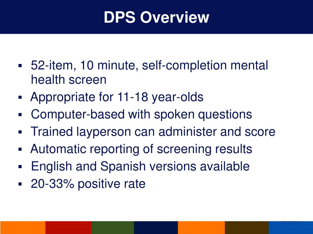 DPS Overview