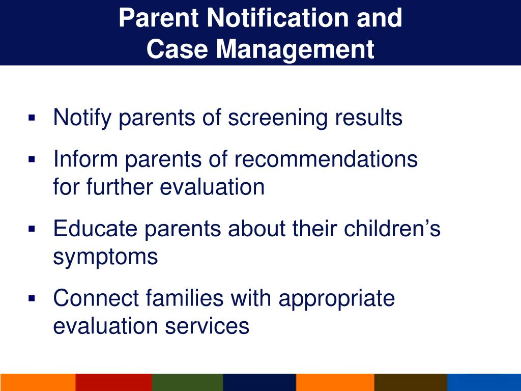 Parent Notification and