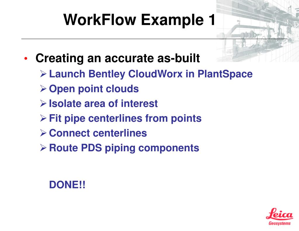 WorkFlow Example 1