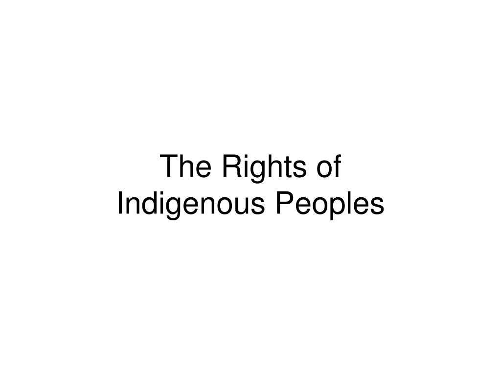 The Rights of