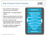 basic concepts of cloud computing