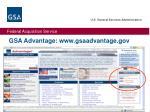 gsa advantage www gsaadvantage gov