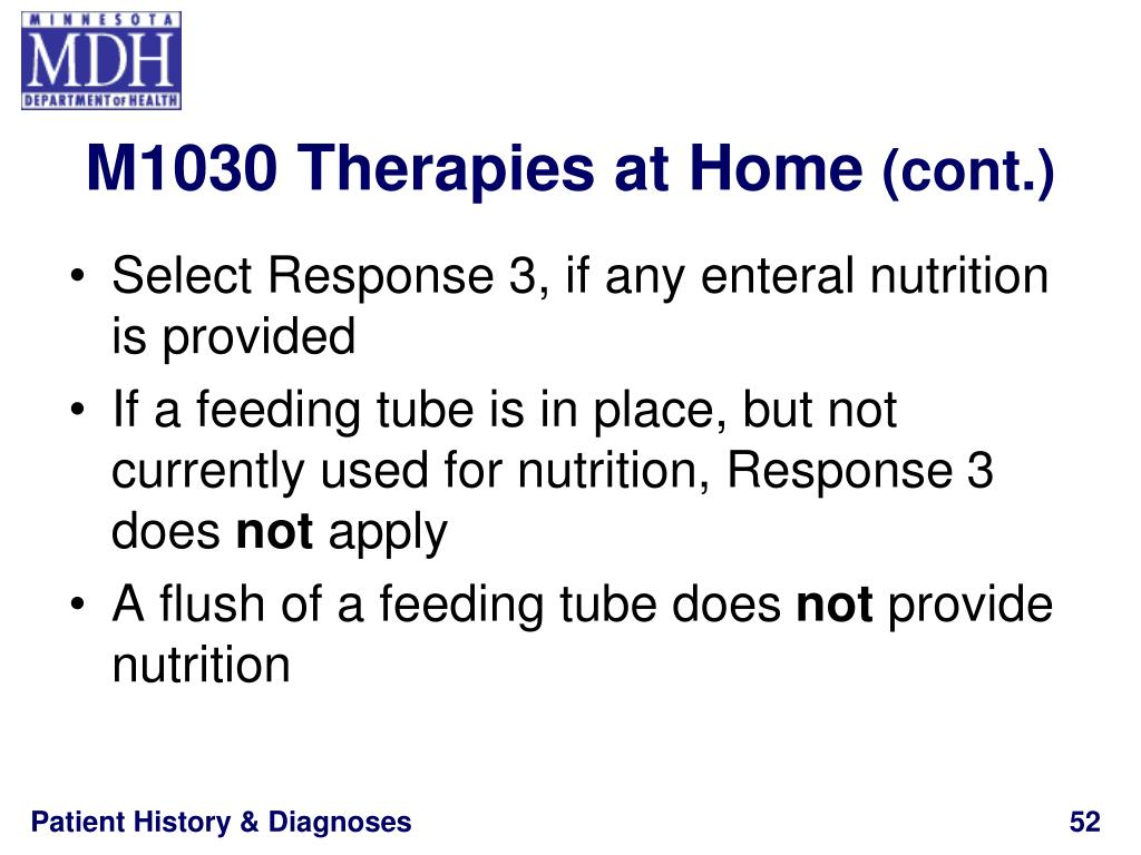 M1030 Therapies at Home