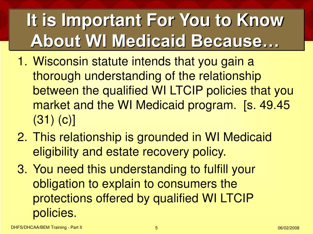 It is Important For You to Know About WI Medicaid Because…