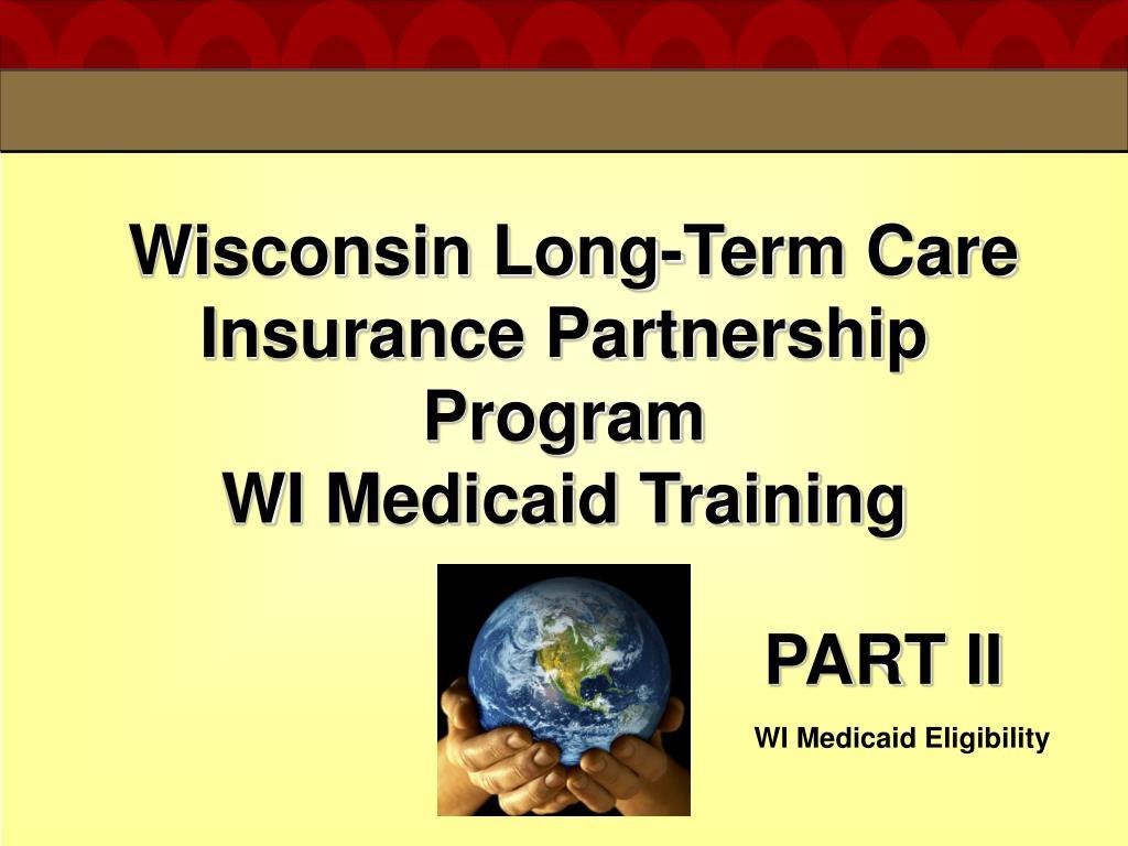Wisconsin Long-Term Care Insurance Partnership Program