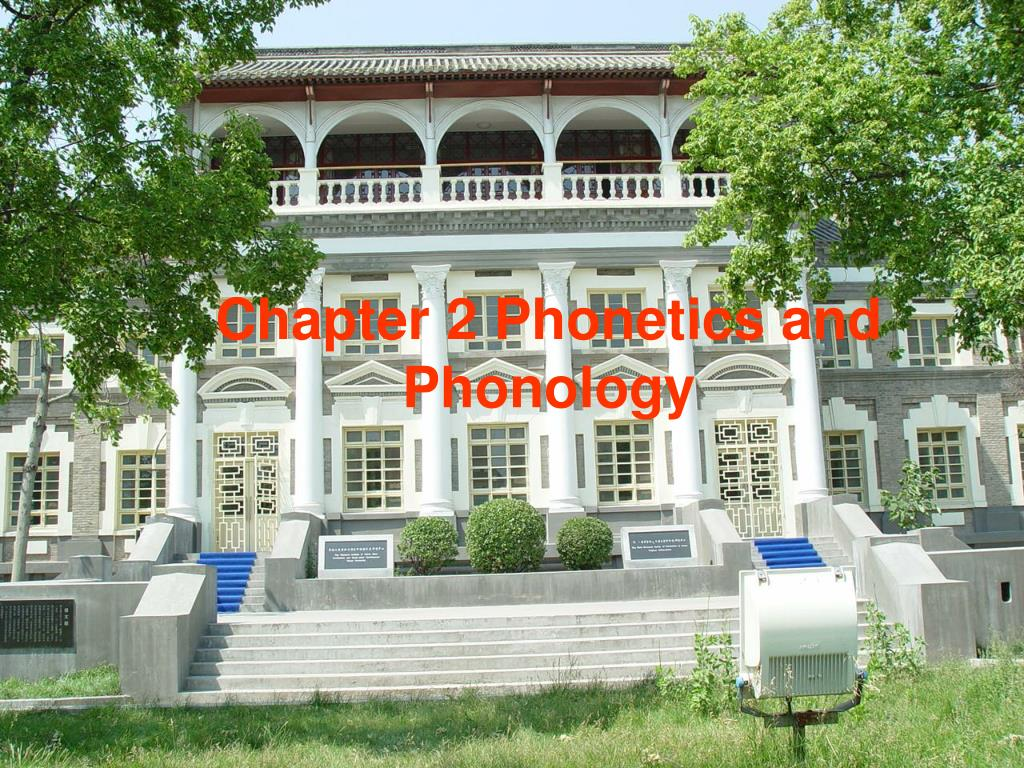 chapter 2 phonetics and phonology