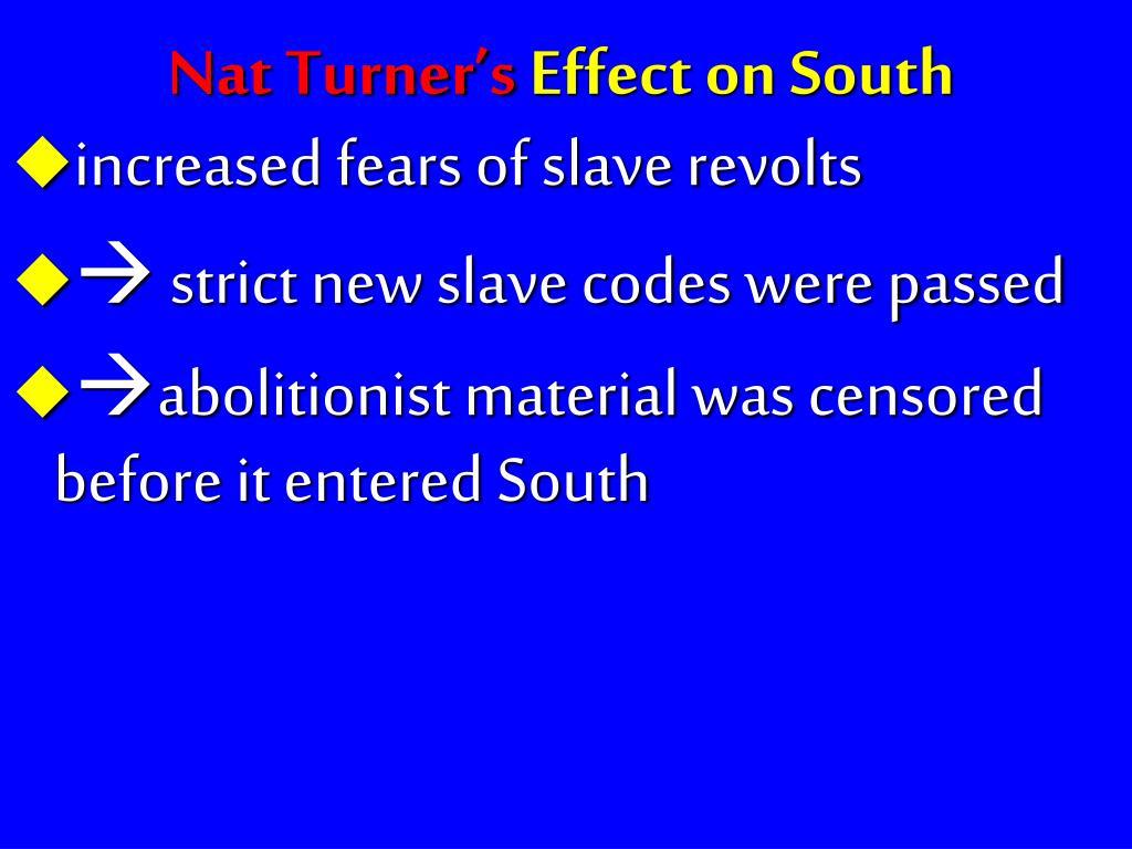 Nat Turner's