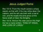 jesus judged rome59