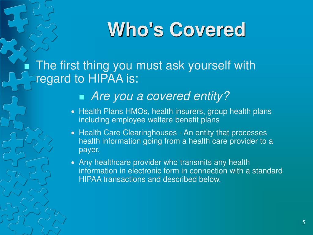 Who's Covered